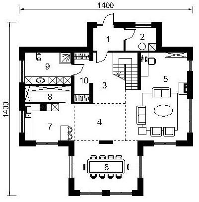 1 floor 25