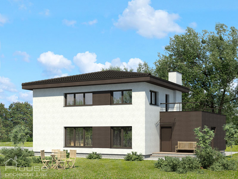 Mājas projekts Alma